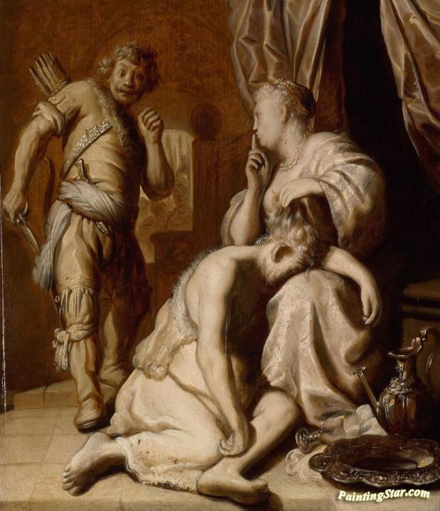 Samson And Delilah Simson En Delila Artwork By Jan Lievens