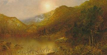 Mountain Lake Artwork by Ralph Albert Blakelock