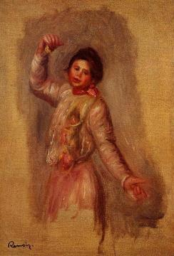 Dancer With Castenets Artwork by Pierre Auguste Renoir