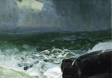 Approach of Rain Artwork by George Wesley Bellows