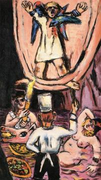 Prometheus. The Man Left Hanging Artwork by Max Beckmann