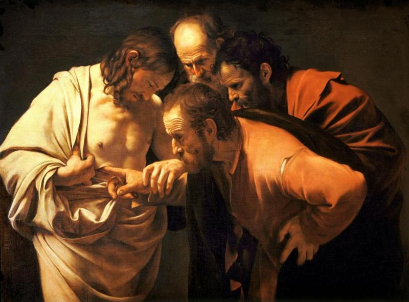 The Incredulity Of Saint Thomas Artwork by Caravaggio