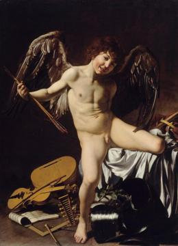 Cupid Artwork by Caravaggio