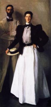 Mr. and Mrs. I. N. Phelps Stokes Artwork by John Singer Sargent