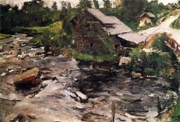 A Mill in Finland Artwork by Valentin Serov