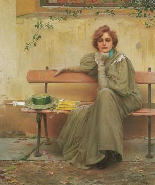 Sogni Artwork by Vittorio Matteo Corcos