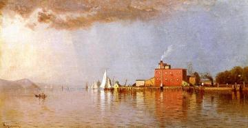 Along the Hudson Artwork by Alfred Thompson Bricher