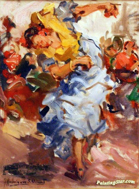 Bailaora Difuminada Artwork By Francisco Rodriguez Sanchez Clement
