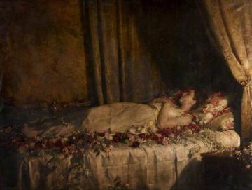The Death of Albine Artwork by John Maler Collier