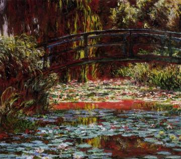 The Bridge over the Water-Lily Pond Artwork by Claude Oscar Monet