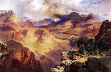 Grand Canyon Artwork by Thomas Moran