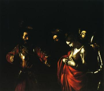 Martyrdom of St. Ursula Artwork by Caravaggio