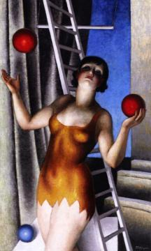 Juggler Artwork by Jean Metzinger