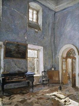The Hall of the Old House Artwork by Valentin Serov