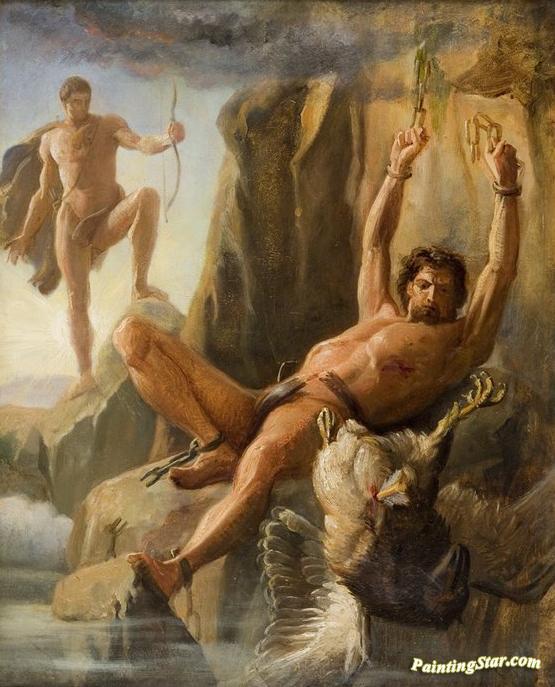 prometheus painting