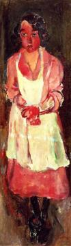 The Chambermaid Artwork by Chaim Soutine