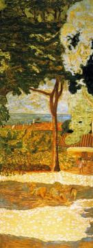 Mediterranean. Triptych (central Panel) Artwork by Pierre Bonnard