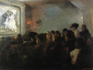 Movies, Five Cents Artwork by John Sloan
