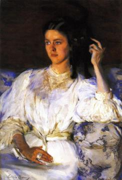 Sita And Sarita Artwork by Cecilia Beaux