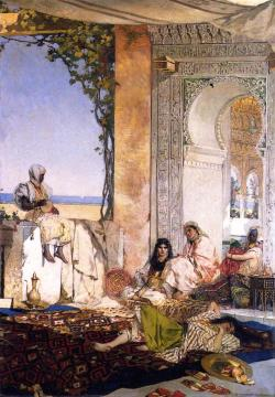 Women of the Harem, Morocco Artwork by Benjamin Constant