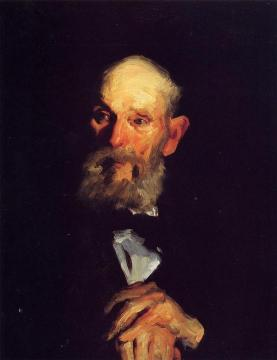 Portrait of My Father Artwork by George Wesley Bellows