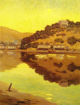 Corinthian Island Artwork by Granville Redmond