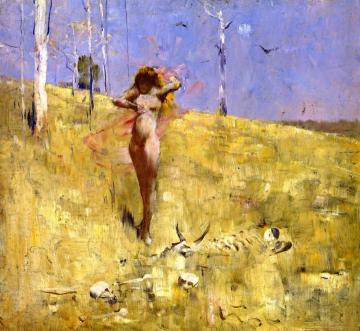 Spirit of the Drought Artwork by Sir Arthur Streeton