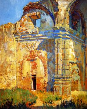Ruins Of San Juan Capistrano Artwork by Alson Skinner Clark