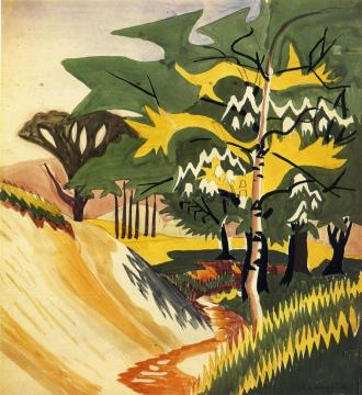 The Sulphur Stream Artwork by Charles Burchfield