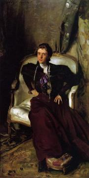 Mrs. Charles Thursby (Alice Brisbane) Artwork by John Singer Sargent