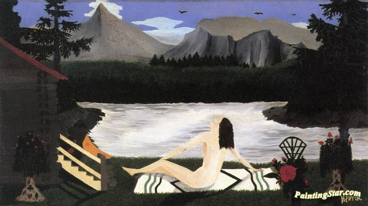 The Lady of the Lake Artwork by Horace Pippin Oil Painting & Art ...