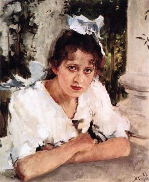 Portrait of Praskovya Mamontova Artwork by Valentin Serov