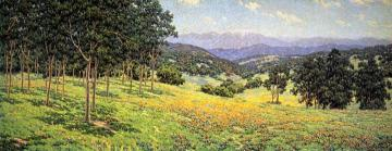 California Landscape With Flowers Artwork by Granville Redmond