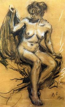 Nude Artwork by Valentin Serov