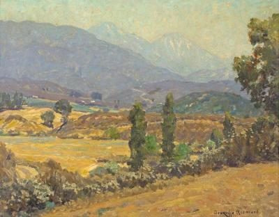 A View Of Mt. Baldy, 1927 Artwork by Granville Redmond
