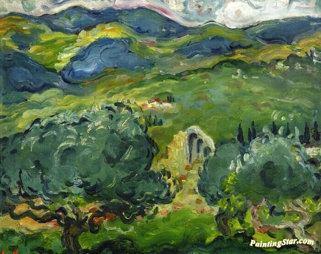 Italian Landscape Artwork By Louis Valtat Oil Painting Art