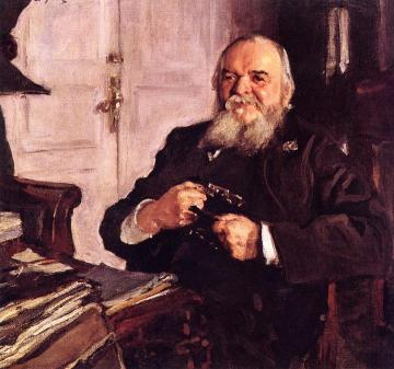 Portrait of Alexander Turchaninov Artwork by Valentin Serov