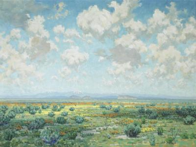 High Desert In Bloom Artwork by Granville Redmond