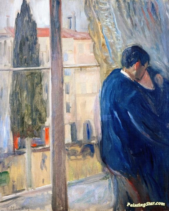 The Kiss Artwork By Edvard Munch Oil Painting Art Prints On Canvas