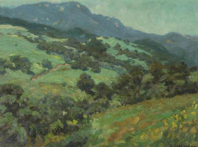 Rolling California Foothills Artwork by Granville Redmond