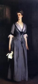 Mrs. Albert Vickers Artwork by John Singer Sargent