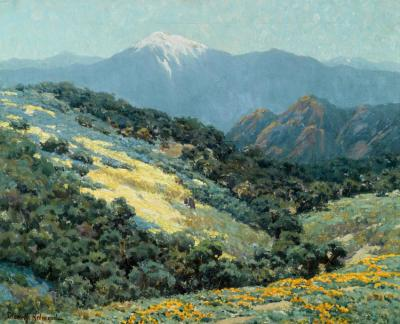 Valley Splendor Artwork by Granville Redmond