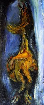 The Rooster Artwork by Chaim Soutine