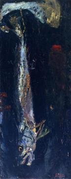 Large Fish Artwork by Chaim Soutine