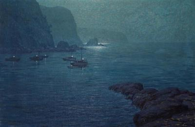 Nocturne Artwork by Granville Redmond