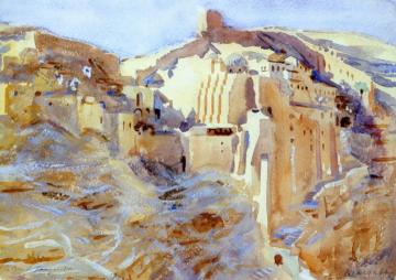 Mar Saba Artwork by John Singer Sargent