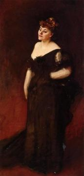 Mrs. Harry Vane Vilbank Artwork by John Singer Sargent
