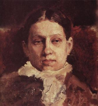 Portrait of V.A. Repina Artwork by Valentin Serov