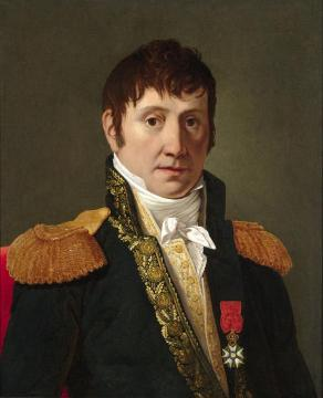 Portrait Of Marechal (marshal) Soult, Circle Artwork by Jacques Louis David