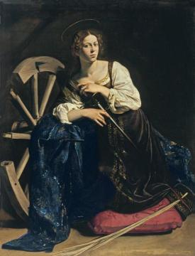 Saint Catherine Of Alexandria Artwork by Caravaggio